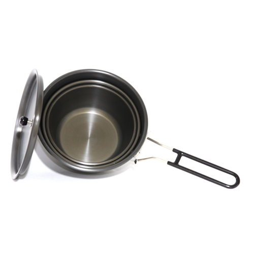 왕초블랙 뚜껑밥그릇 3종세트 Boss Black Cover Rice Bowl 3PC Set NO.A-0800