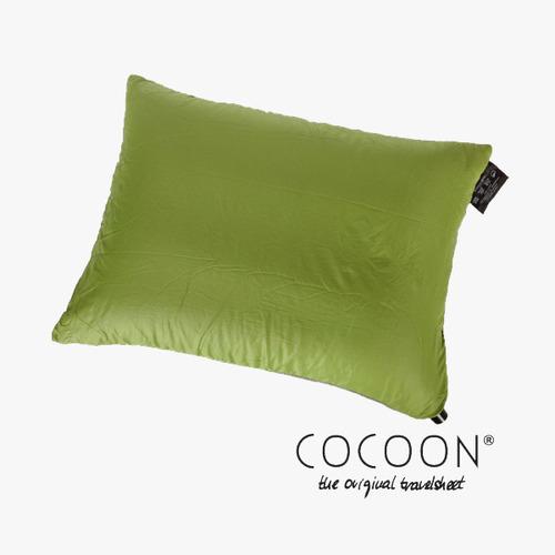 코쿤 COCOON 휴대용 사각베개 필로우 / 와사비  Air Core Travel Pillow Ultralight / Wasabi