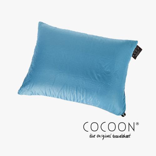 코쿤 COCOON 휴대용 사각베개 필로우 / 블루  Air Core Travel Pillow Ultralight / Blue
