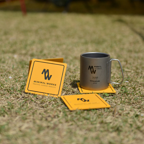 미니멀웍스 MinimalWorks ECO-Friendly coaster SET (컵받침 4개세트)