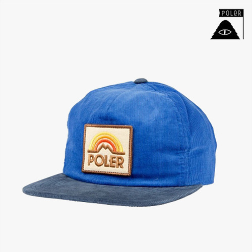 폴러 스터프 스냅백 SNAPBACK - MTN SUNSET GRAMPA CORDY - ROYAL BLUE