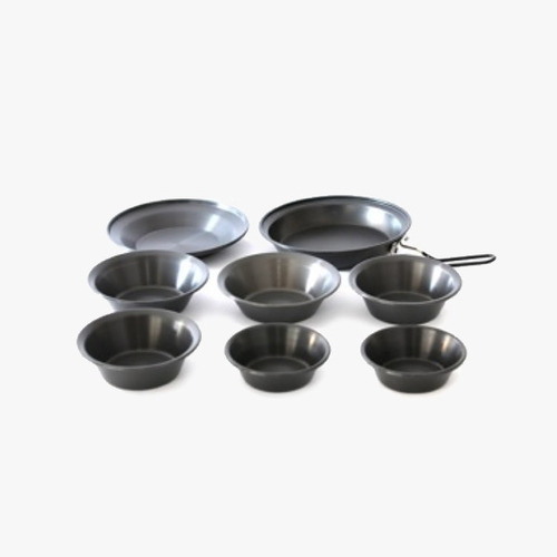왕초 블랙 식기세트(8PC) Boss Black Dish Set(8PC) NO.A-670