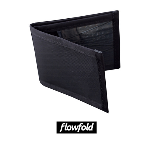 플로우폴드 FLOWFOLD VANGUARD WALLET LTD JET BLACK