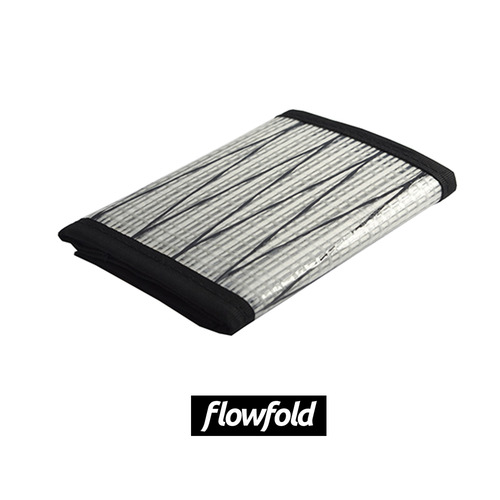 플로우폴드 FLOWFOLD TRAVELER WALLET WHITE