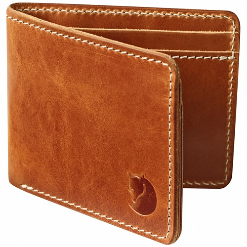 피엘라벤 Fjallraven 오빅 월렛 Ovik Wallet (77307) - Leather Cognac