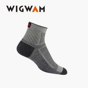 위그암 Wigwam Ultra Cool Lite Quarter(UP) F6282 (072 Grey) /울양말/등산양말