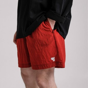 테이크냅 TAKENAP / SUMMER PACKABLE SHORTS _ RED
