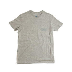 폴러 스터프 POLER STUFF 선사인 포켓티 POCKET TEE SUNSHINE/OUTDOORS HEATHER GREY