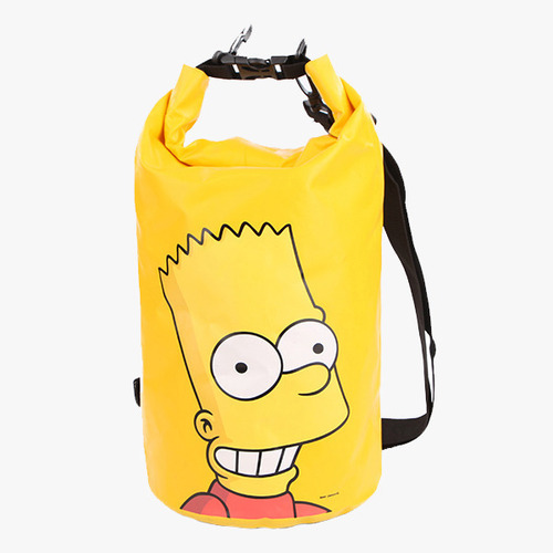 배럴 Barrel 심슨 드라이백 The Simpsons Dry Bag 10L Bart