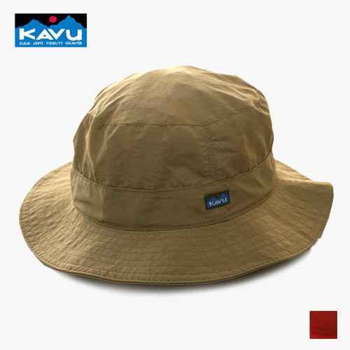카부 SYNTHETIC STRAP BUCKET HAT