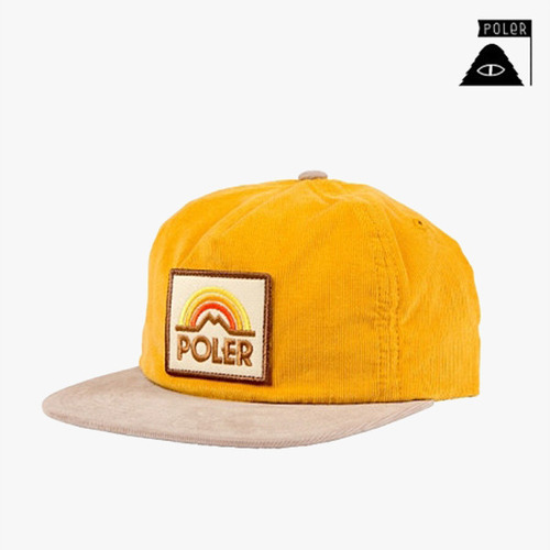 폴러 스터프 스냅백 SNAPBACK - MTN SUNSET GRAMPA CORDY - FIELD YELLOW