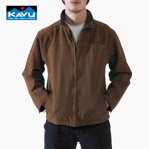 카부 KAVU 캐차 캔 자켓 Ketch a Can Jacket - Caramel