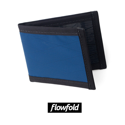 플로우폴드 FLOWFOLD VANGUARD WALLET LTD NAVY BLUE