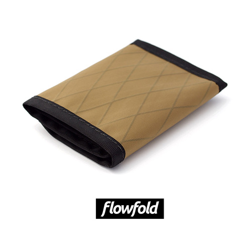 플로우폴드 FLOWFOLD TRAVELER WALLET LTD COYOTE BROWN