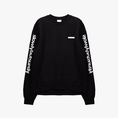 슬로울리벗슈얼리 Shodow comport Crewneck 3M