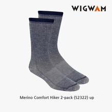 위그암 Wigwam Merino Comfort Hiker 2-pack(UP) S2322 /울양말/등산양말